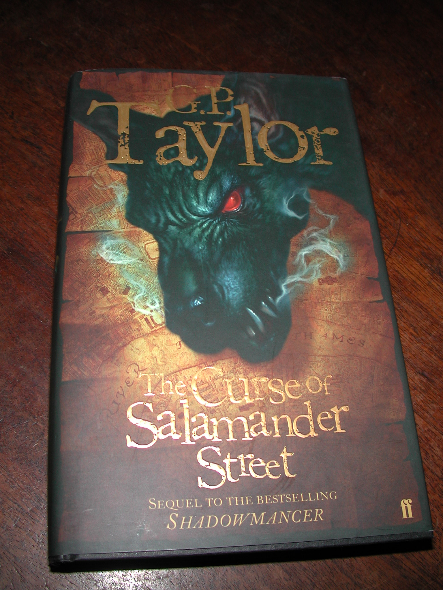 the curse of salam ander street taylor g p
